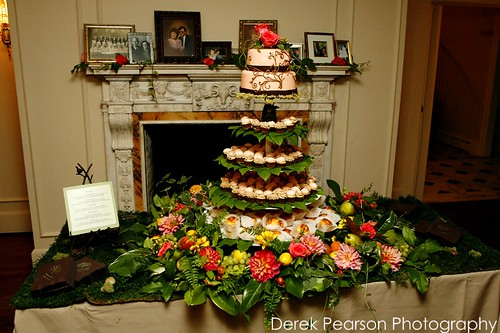 Enchanted Garden wedding tower