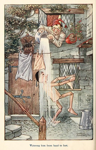 016-Charles Folkard- Pinocchio the tale of a puppet -1911