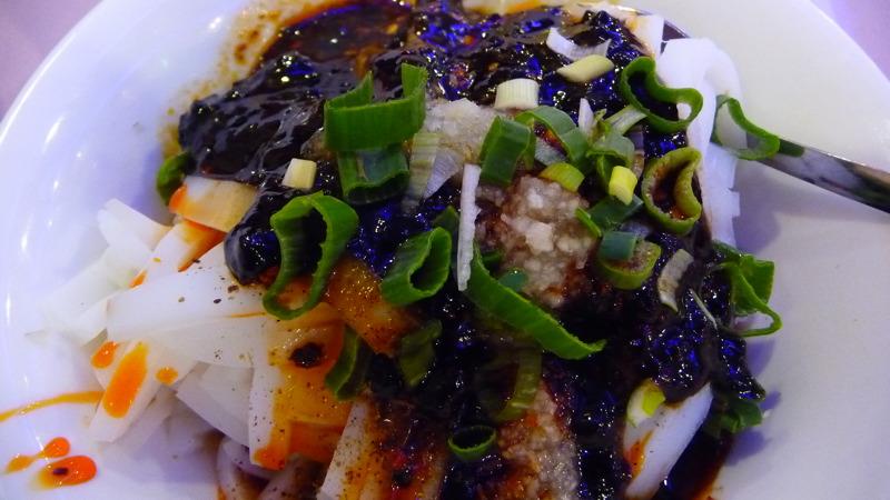 Chengdu Mungbean Noodle at Famous Sichuan