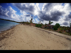 Natural beach (Kaj Bjurman) Tags: ocean desktop wallpaper beach clouds eos sand village natural country cuba large vivid 5d hdr tilted kuba kaj mkii markii cs4 guardalavaca photomatix bjurman