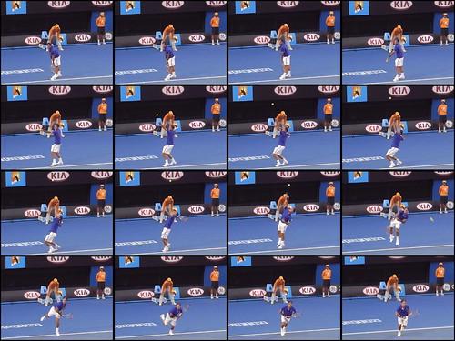 Federer service form (by HAMACHI!)