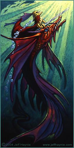 Dragon Fish by Jeff Haynie