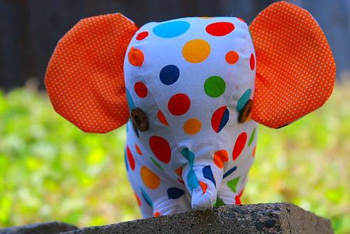 polka dot elephant