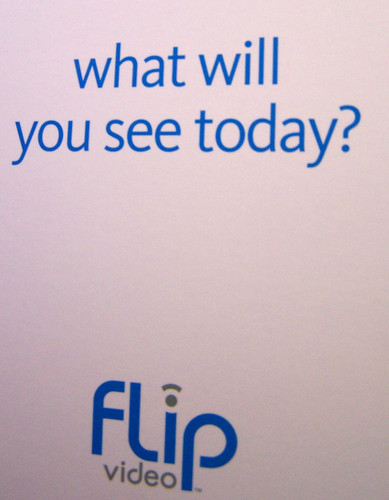 flip ultra video camera what will you see today?