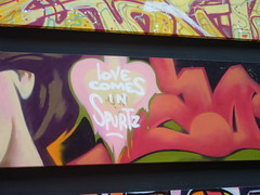 love comes in spurtz (nattynattyboom) Tags: show paris art graffiti tag au grand exhibition collection exposition palais ezo gallizia