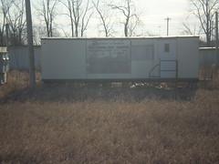 old office trailer (Ruin Raider) Tags: old abandoned minnesota office ruins wwii ruin trailer ulands umorepark gopherordinceworks