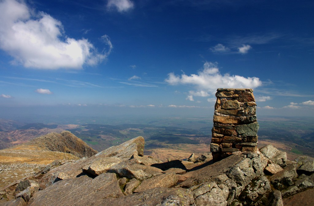 The summit of Moel Siabod