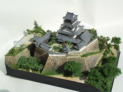 Kochijo Castle 1:500 (blaskov) Tags: castle scale japan japanese model scenery  stronghold  kochi diorama plamo  kochijo