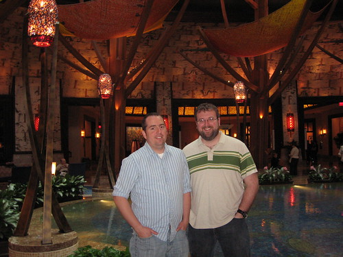 My partner and I at Mohegan Sun in Uncasville, Connecticut