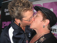20080829 094 (Interactive Male 2009) Tags: world seattle gay party men public lesbian washington women kiss kissing display union marriage kisses august lips series block softball 2008 gaymarriage equality marriageequality rights interactive campaign male nagaaa equal wwwbiggaykisscom pdk
