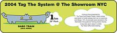 Uglydoll Babo Train - Tag the System Show - Babo's Uglytrain (jcwage) Tags: giantrobot doll handmade oneofakind ox collection kidrobot prototype ugly sample trunk tray gr uglydoll samples rare uglydolls icebat babo zakka uglydog jeer horvath wedgehead gr2 davidhorvath sunminkim uglycon