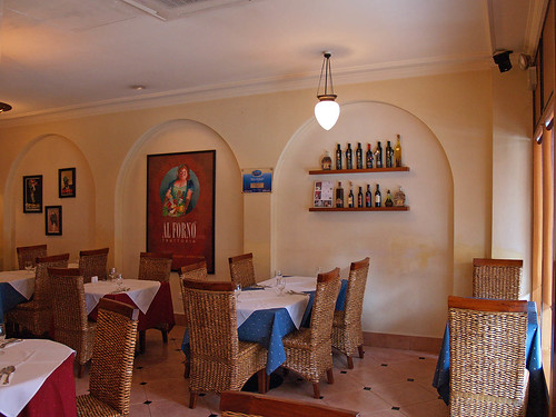 Interior of Al Forno Trattoria I