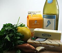 Wild Mushroom Agnolotti with Lemon Butter Sauce
