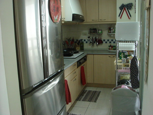 Standing at Kitchen Doorway