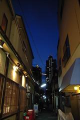 Tsukishima sunset