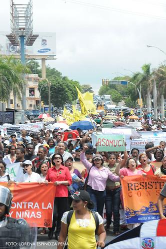 Gran Marcha in Dominican Republic
