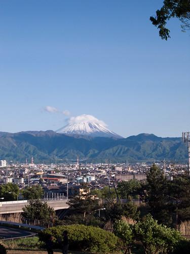 富士山@双葉サービスエリア