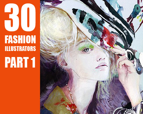 3516708389 aaf2895974 o 30 Fashion Illustrators You Cant Miss Part 1