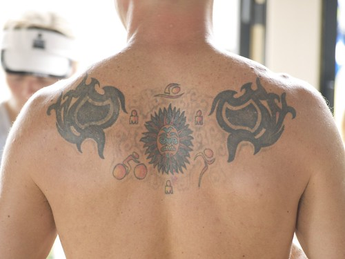 Triple Ironman Tattoo