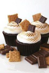 S'mores Cupcakes (Glorious Treats) Tags: chocolate cupcake marshmallow smores grahamcracker