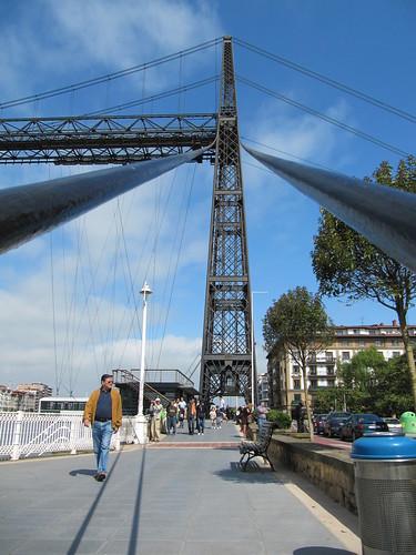 Puente Colgante en Getxo