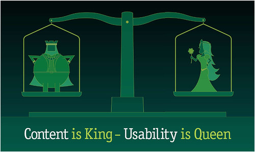 Content is King, Usability is Queen, Daniel Waisberg, CC
