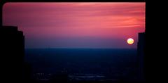 Dusk - 2 (: : w i n t e r t w i n e d : :) Tags: city sunset sky bw sun chicago beauty skyscraper evening nikon bob windy filter nd gradient setting density neutral d90 x1000 nd3