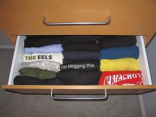 decluttered dresser