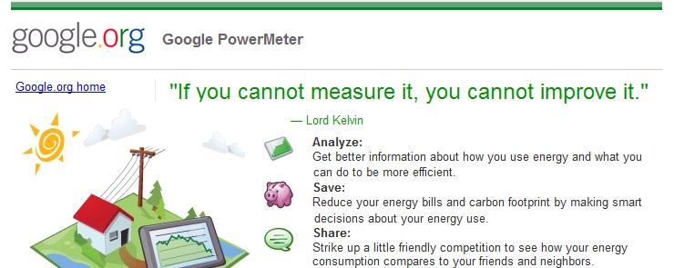 power meter Google