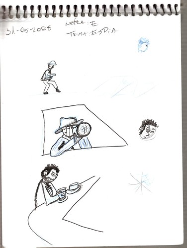 Mi memoria en dibujos 18 (E, Espia)