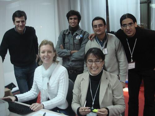Equipo organizador de la XI Reunión