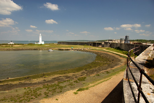 Hurst Point Lighthouse and Castle