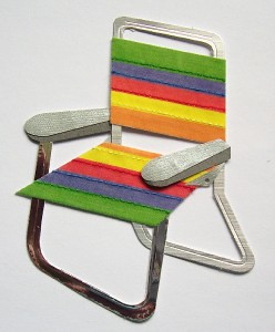 rainbow chair by you.