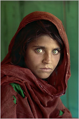 Photos that Changed the World: 'Afghan girl' (ukasz Pogorzelski) Tags: nationalgeographic afghangirl