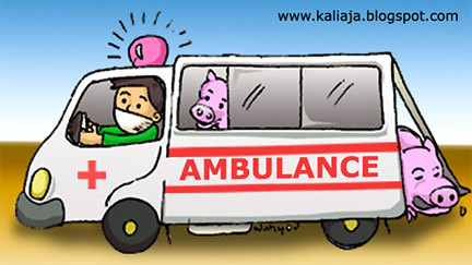 BABI naik AMBULANCE