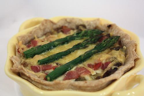 Asparagus and Mushroom Tart