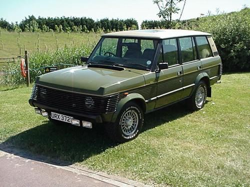 URX 372Y - 1983 Range Rover Classic -