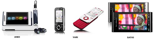 AINO YARI SATIO Sony Ericsson