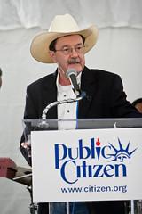 Jim Hightower, Emcee