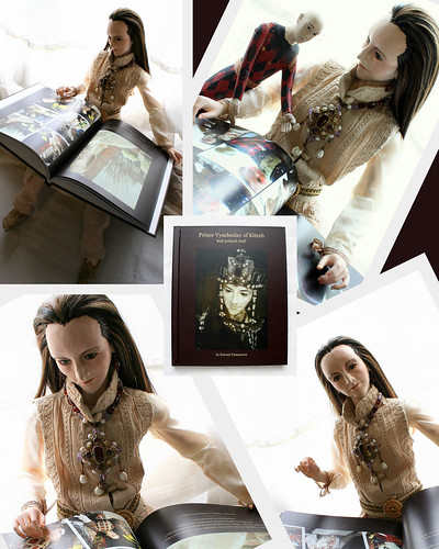 Prince Vyacheslav and his book !!