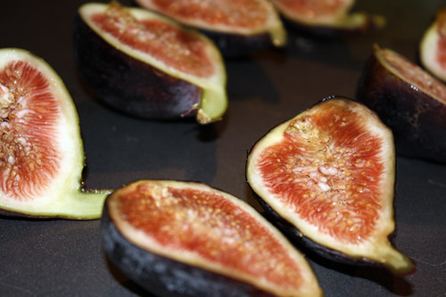 Cocoa-Coffee Bison with Pomegranite Syrup and Fresh Fig 2