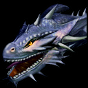 Shadow Dragon headshot from Heroes of Might and Magic 5