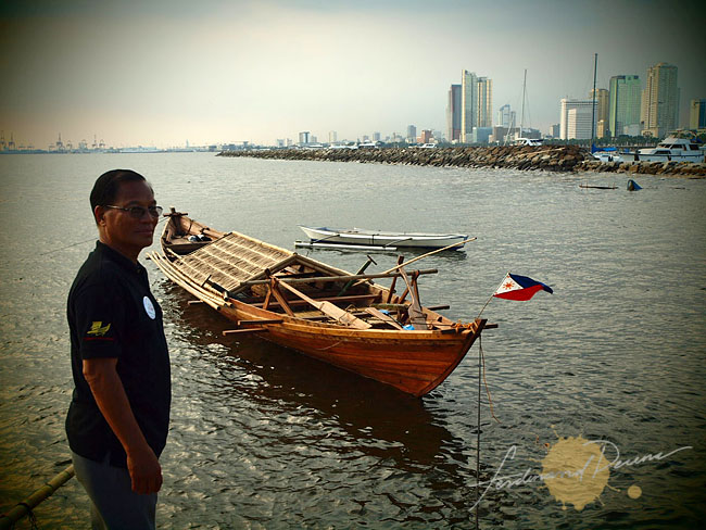 Art Valdez and the Balangay, Diwata ng Lahit now at sea