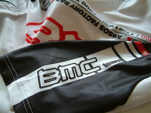 Assos BMC squadraMondo - Jersey Sleeve