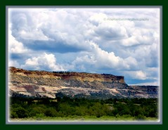 New Mexico and Arizona Border (mountainbeliever) Tags: arizona newmexico nature beauty clouds landscapes scenery colorful skies rocky az cliffs views states geology nm borders picnik horizons stormyclouds topography cloudyskies