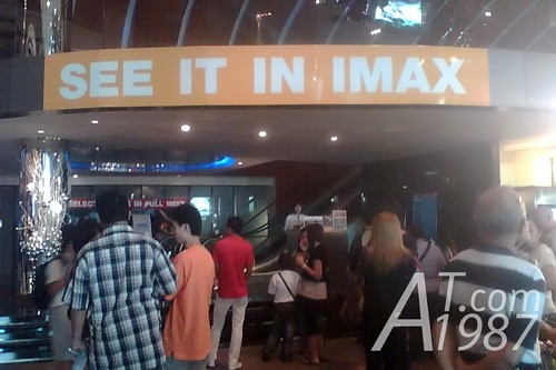 In front of KRUNGSRI IMAX