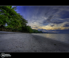 Duka Bay Resort... | Explore (rev_adan) Tags: trip travel blue trees sunset sea vacation seascape green beach water clouds canon landscape eos bay sand tour angle philippines wide resort explore shade medina hdr mindanao cottages uwa duka 40d pinoykodakero revadan litratistakami garbongbisaya
