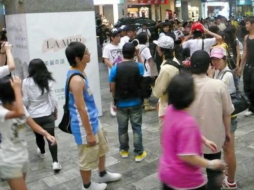 新竹 MJ 快閃 beat it02