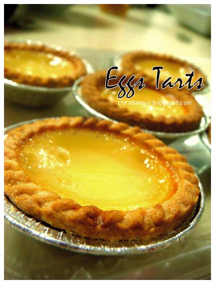 Potluck Sunday: Egg Tarts