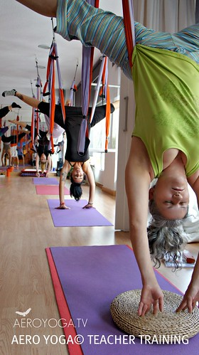AERO YOGA© : GRAVITY SWING YOGA TEACHER TRAINING